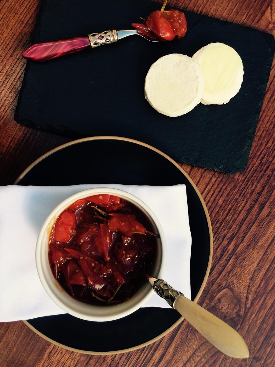 Chutney de Tomate Cereja, Curry e Alecrim