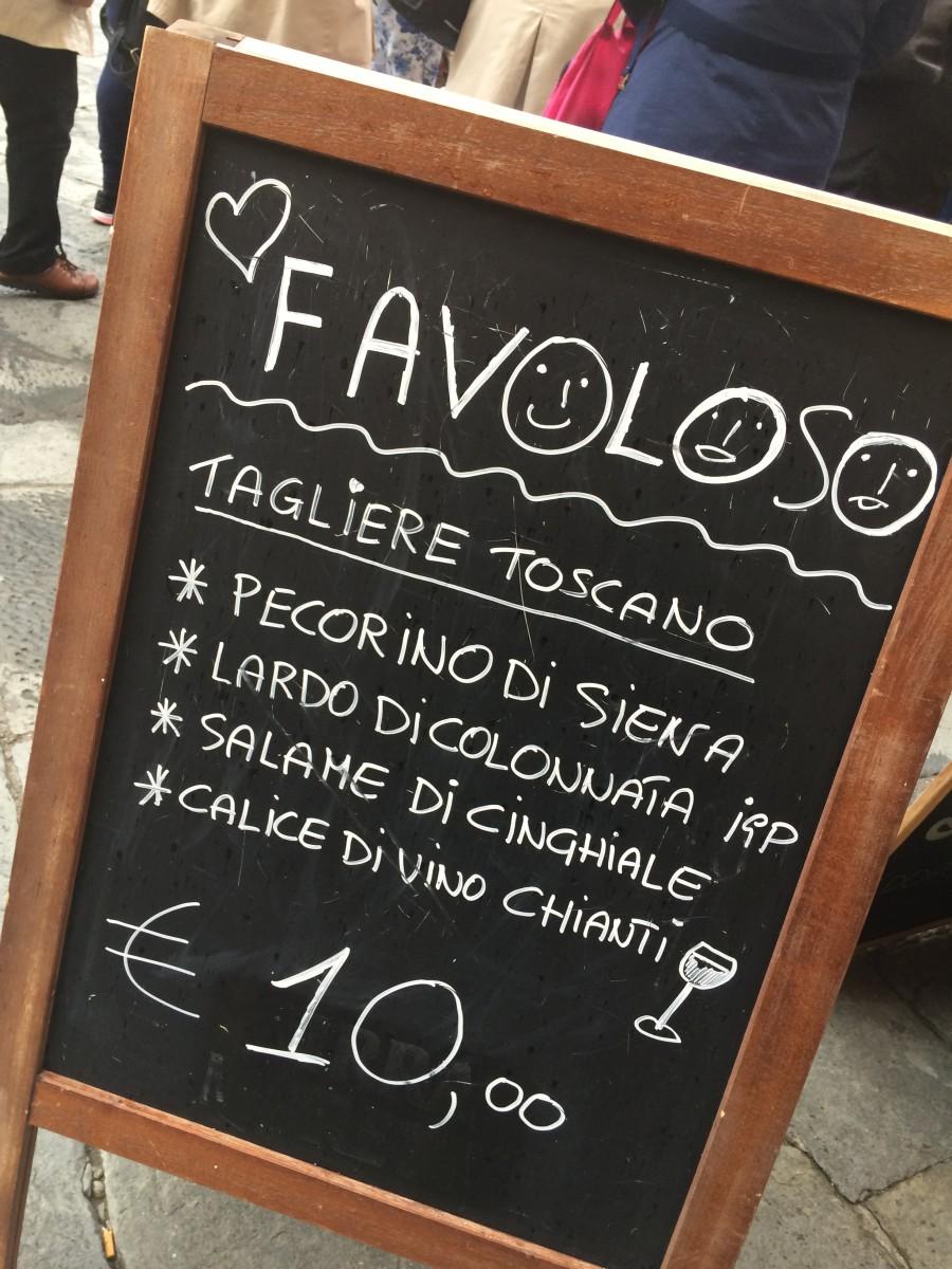 Pelas mesas da Itália – Toscana