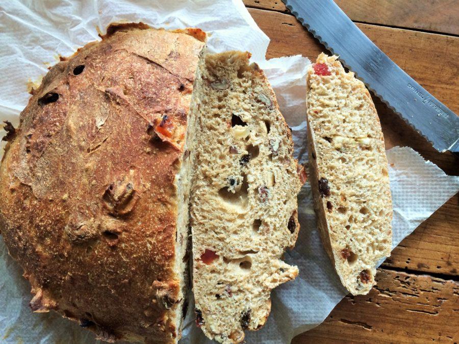 Pão de Castanhas e Frutas Secas
