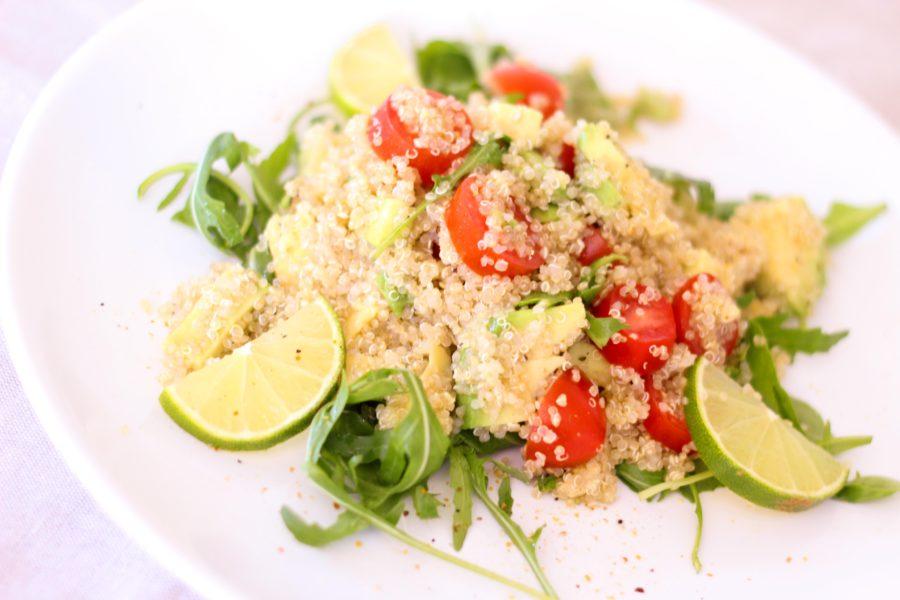 Tabule de Quinoa e Abobrinha