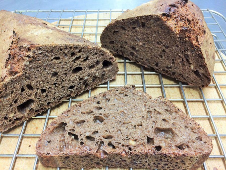 Pão de Cacau e Avelã