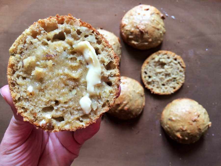 Pãozinho de Farofa