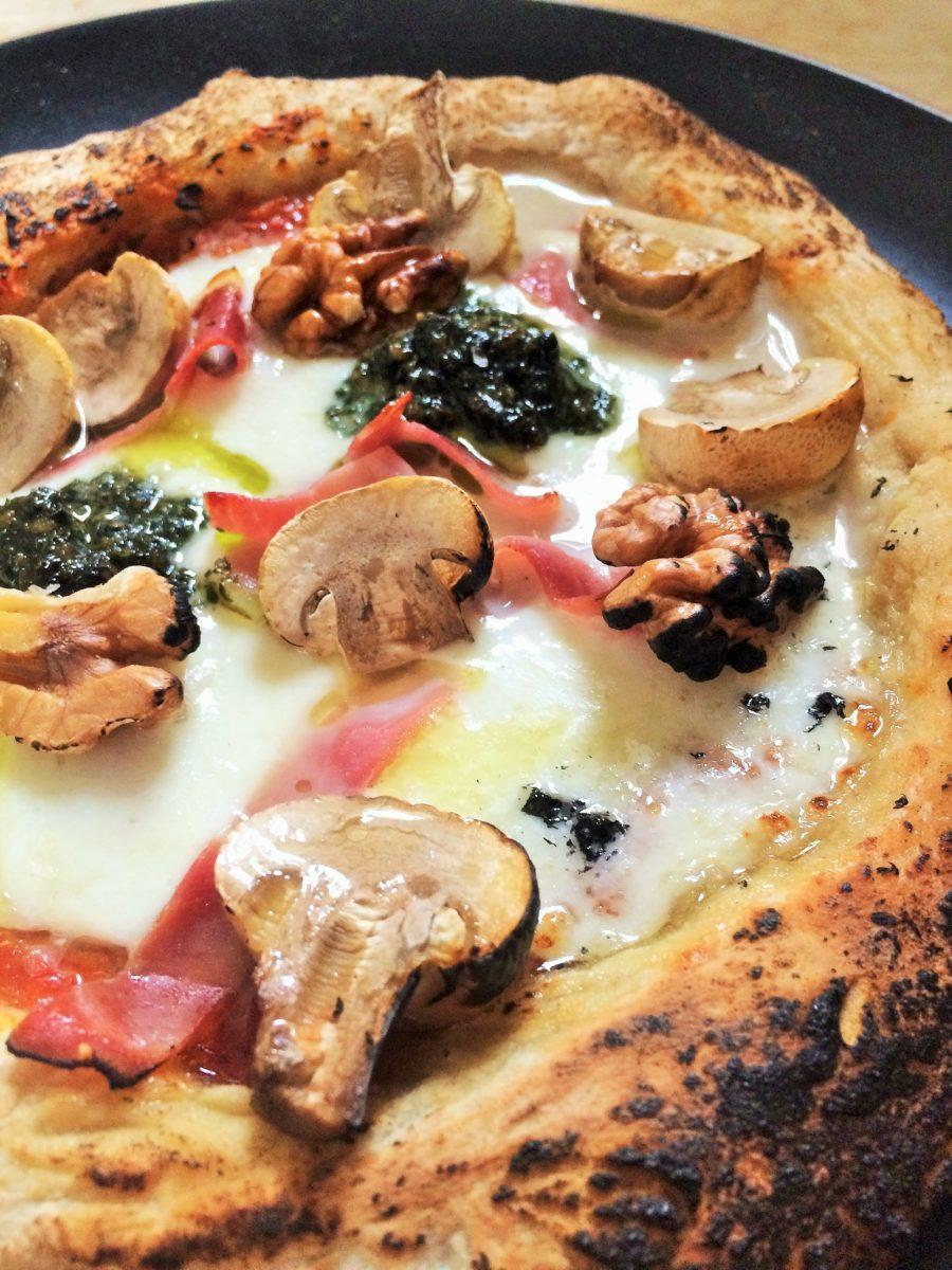 Pizza de Fermentação Natural {Levain}