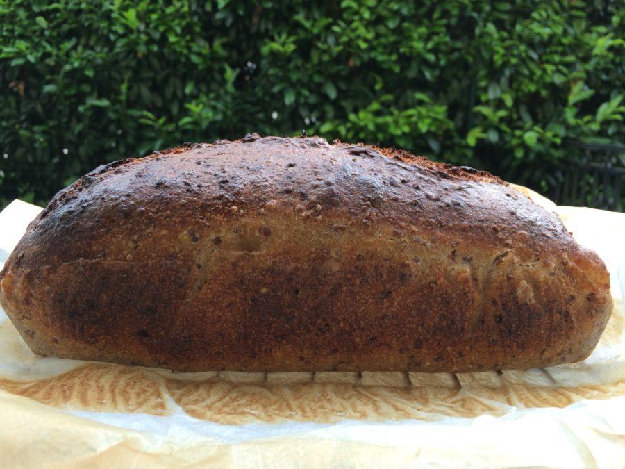 Pão de Quinoa {Levain}