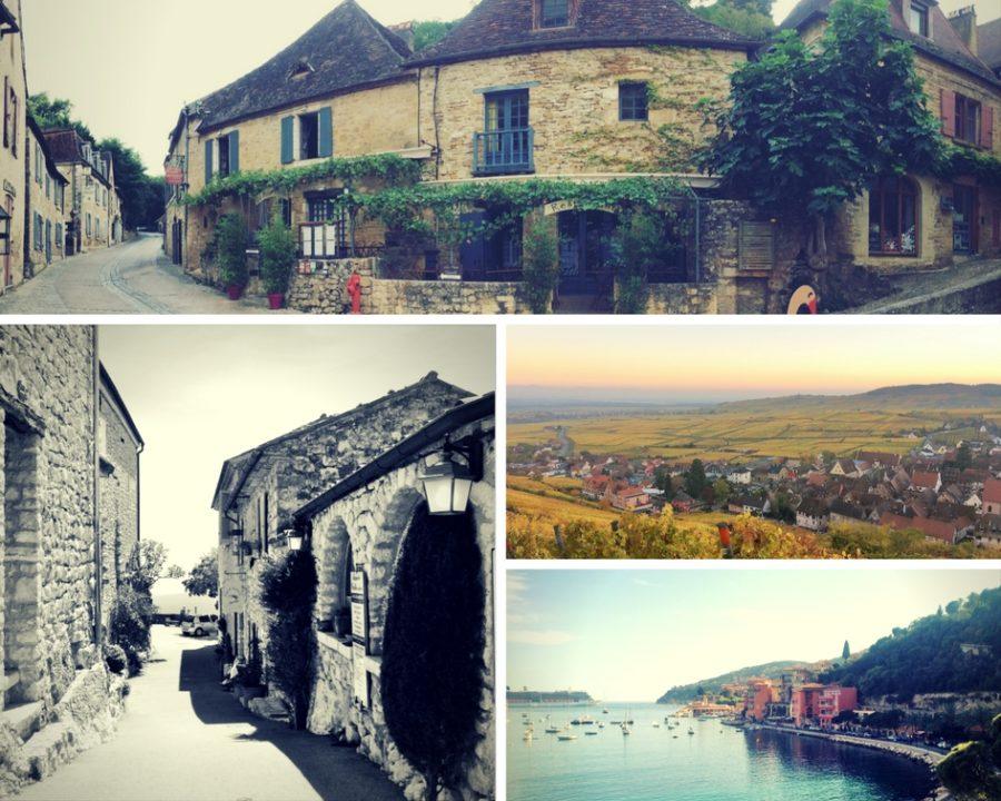 Os vilarejos mais bonitos da França