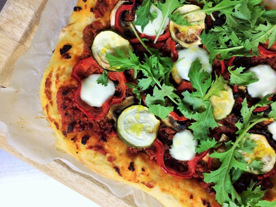Pizza de Longa Fermentação