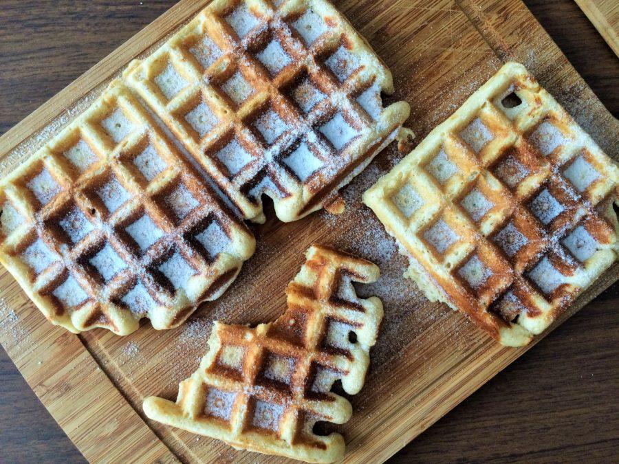 Waffles com Levain