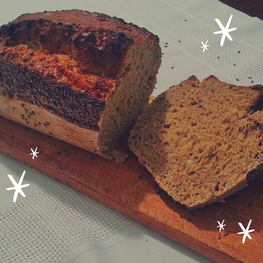 Pão da Paty, o quarto da série 'Um pão para cada amigo': Semi Integral com Grãos {Levain}