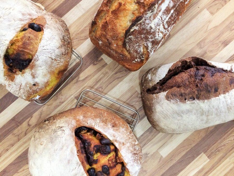 Pão da Mari e do Lucas, o sexto da série 'Um pão para cada amigo': Curry, Uva Passa, Nozes e Chocolate